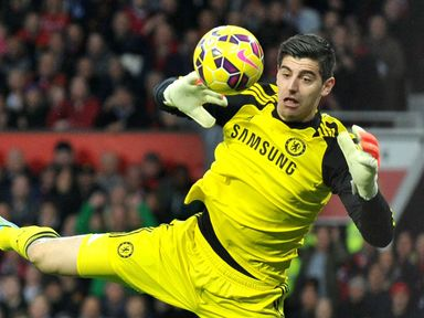 Thibaut Courtois: Along with De Gea, the Chelsea stopper was one of the best players on the pitch with some crucial stops. 8/10