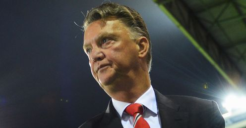 Louis van Gaal: Unhappy with Manchester United's points total