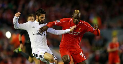 Mario Balotelli: Drew another blank against Real Madrid