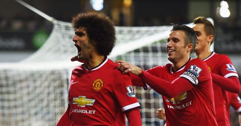 Marouane Fellaini: Cancelled out Stephane Sessegnon's early goal