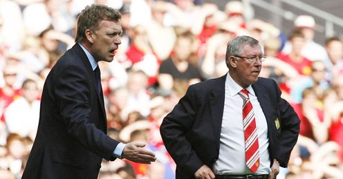 David Moyes: Was named as Sir Alex Ferguson's successor in 2013