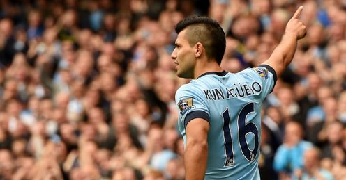 Sergio Aguero: Superb start to the season for Manchester City