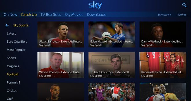 Sky Go Catch Up