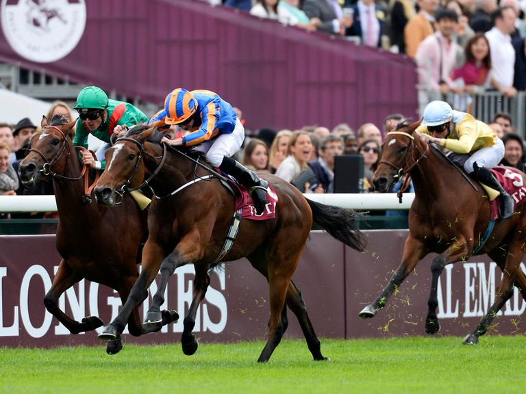 Found powers clear to win the Prix Marcel Boussac at this meeting 12 months ago.
