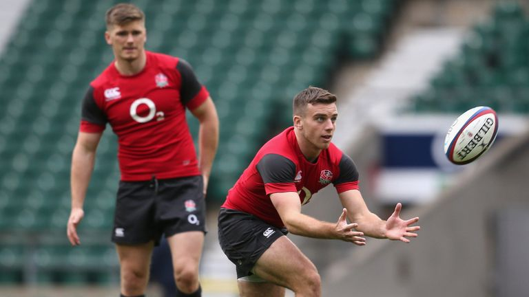 Owen Farrell and George Ford: Reprised youth partnership against Samoa