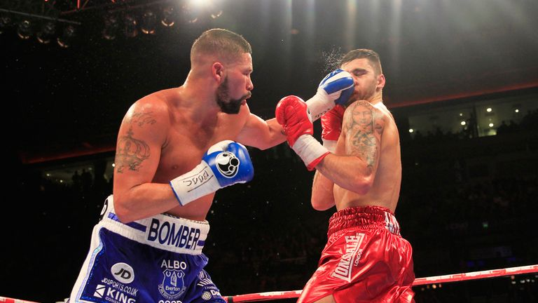 Tony Bellew admits that Nathan Cleverly is a top-level competitor