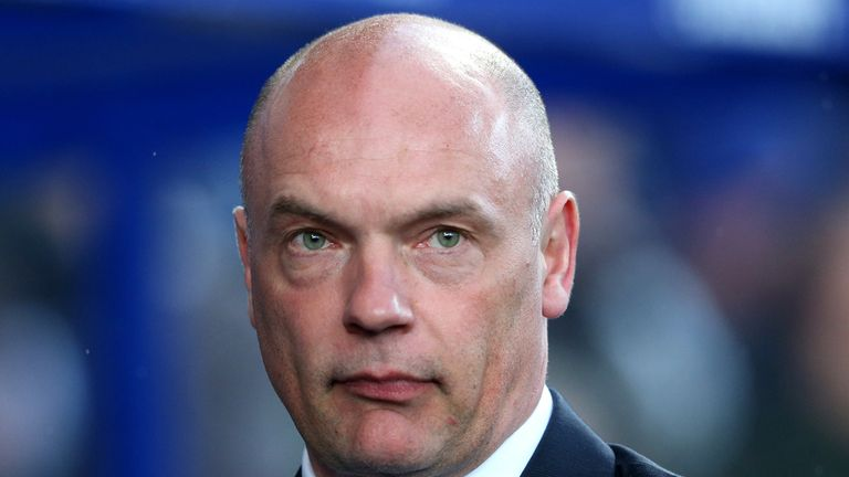 Uwe Rosler has been replaced at Wigan by Malky Mackay.