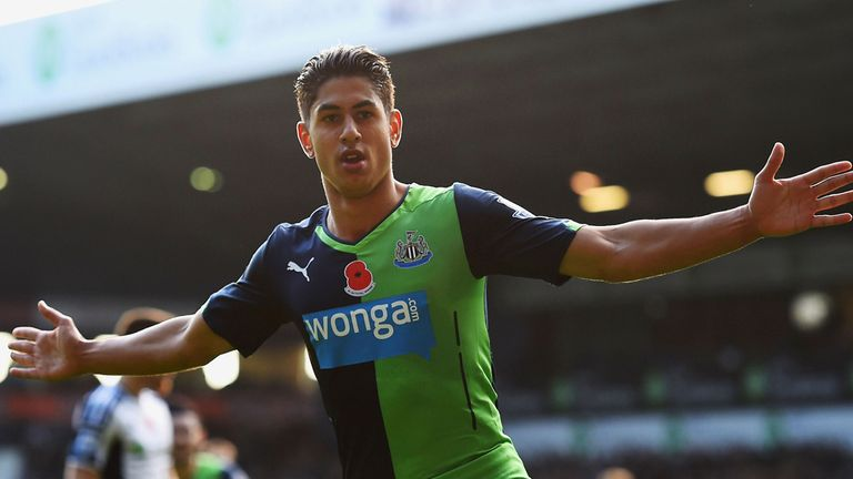 Newcastle United's Ayoze Perez has been in fine form lately.