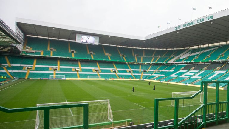 Celtic Park where safe standing will be introduced prior to the 2016-17 season.