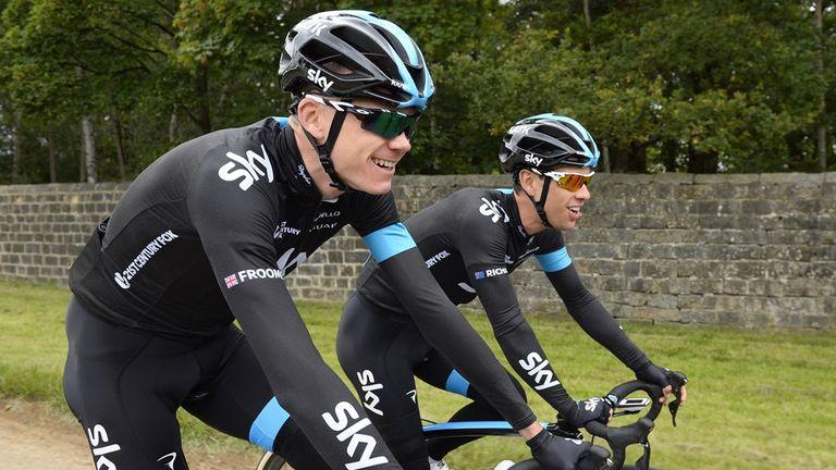 Chris froome and richie porte to ride stan siejka for Richie porte team sky