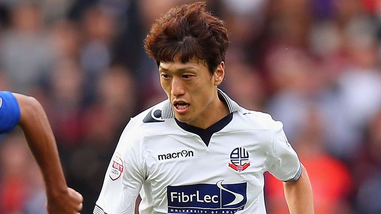 Lee Chung-Yong: Earned Bolton a draw at Blackpool