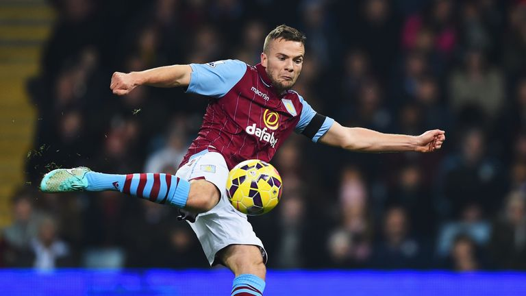 Tom Cleverley has impressed Sherwood since joining Aston Villa on loan from Manchester United