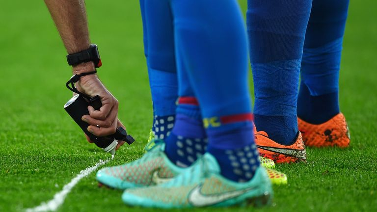 The implementation of VAR will not be as smooth as a simple vanishing spray