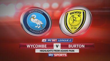 Wycombe 1-3 Burton