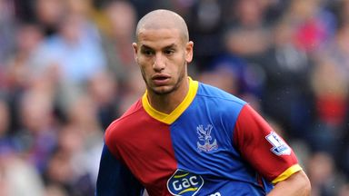 Adlene Guedioura: Struggled for opportunities at Crystal Palace