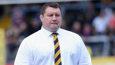 Dai Young: Wasps happy to have the monkey of their backs