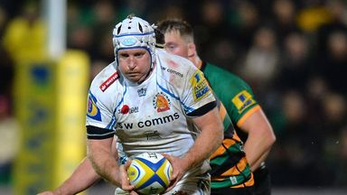 Exeter looking to challenge for top spot this weekend