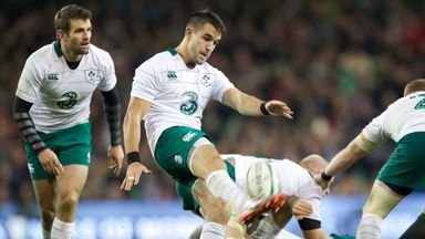 Conor Murray's ever-reliable boot helped Ireland beat the Springboks