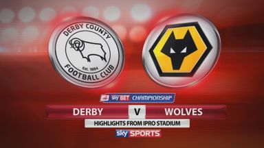 Derby 5-0 Wolves
