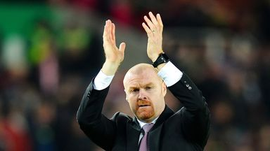 Sean Dyche: Burnley boss feels Leicester should have won more games this season