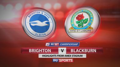 Brighton 1-1 Blackburn