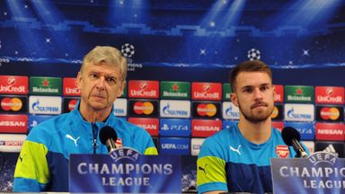 Arsene Wenger and Aaron Ramsey: Sticking together