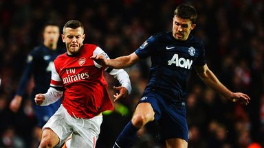 Arsenal host Manchester United on Saturday evening