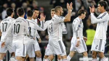 Real Madrid: In great form