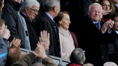 Dave Whelan: Welcomed by home fans on Saturday