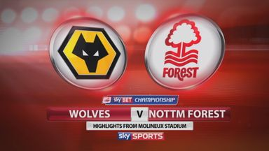Wolves 0-3 Nottingham Forest