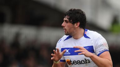 Cory Hill:  two tries for Newport Gwent Dragons