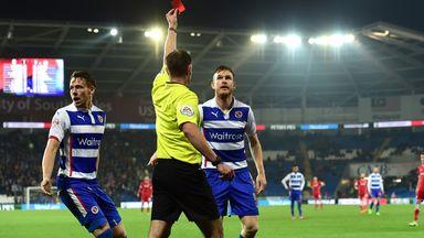 Alex Pearce: Sent off against Cardiff