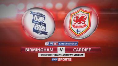 Birmingham 0-0 Cardiff