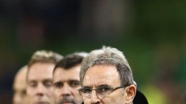 Martin O'Neill: Big game coming up on Sunday for Republic of Ireland boss