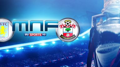 Aston Villa and Southampton meet in front of the Sky Sports cameras
