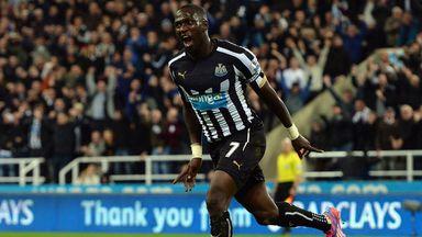 Moussa Sissoko: Celebrates Newcastle's winner