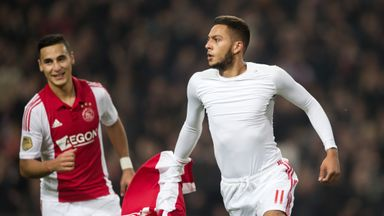 Ricardo Kishna: netted twice for Ajax against Twente