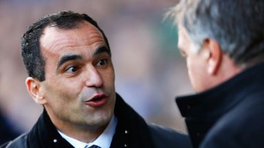 Roberto Martinez: Will pit his wits against Sam Allardyce on Saturday