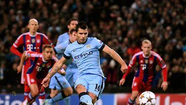 Sergio Aguero: Has scored 17 goals in 18 appearances this season
