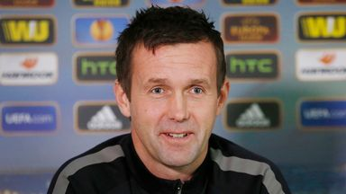 Celtic manager Ronny Deila is prepared for a physical clash at Hampden