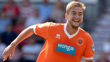 Steven Davies: Struggling for game time at Blackpool