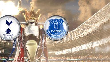 Watch Spurs v Everton - Sunday, 3:30pm Sky Sports 1HD