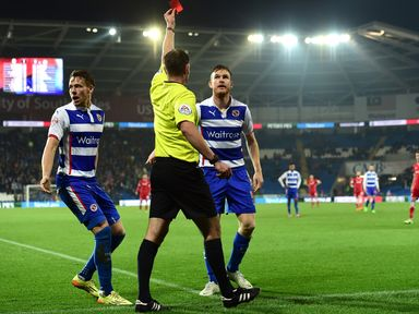 Alex Pearce sees red at Cardiff