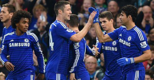 Chelsea: Celebrate Diego Costa's goal
