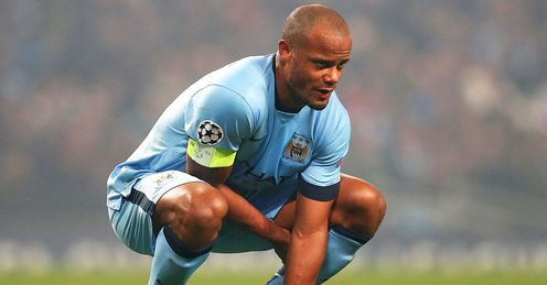 Vincent Kompany: Could face Swansea this weekend