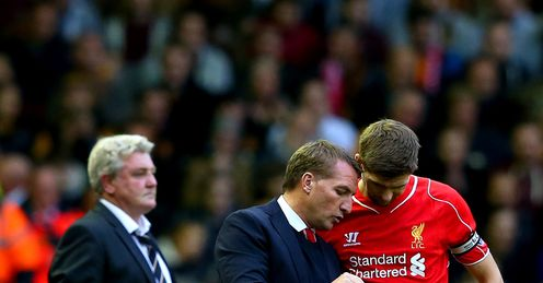 Brendan Rodgers: Wants Gerrard to stay