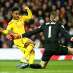 David De Gea: Makes another save from Raheem Sterling