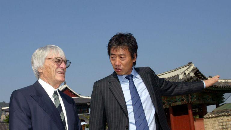 Bernie Ecclestone: Says Korea had to be added to the 2015 calendar