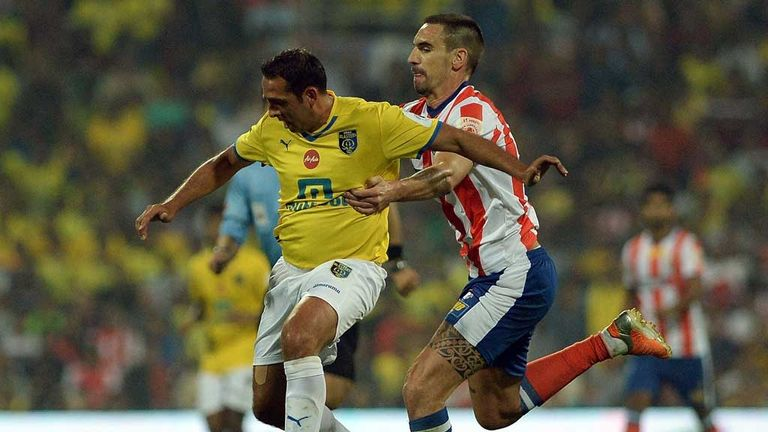 Michael Chopra has played in two of the last three editions of the Indian Super League