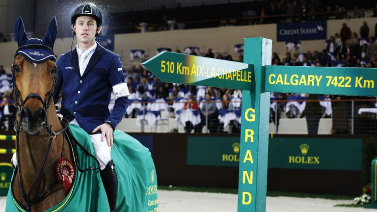 Scott Brash is a former world No 1 and won gold in the Team Jumping at London 2012